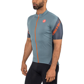 Castelli Entrata 3 Maillot FZ Hombre, light steel blue